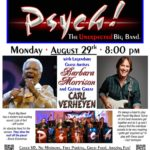 Psych! Big Band at Typhoon Santa Monica with Vocalist Barbara Morrison and Guitarist Carl Verheyen 8/29/16
