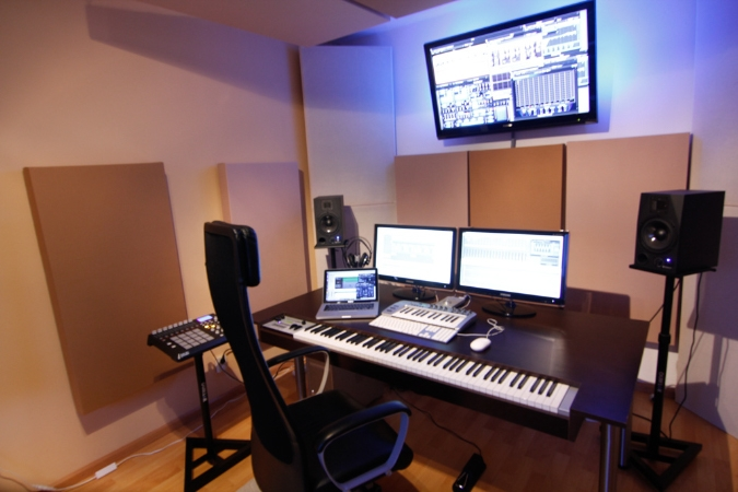 Composer Desk Workstation Ideas