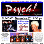 Typhoon Santa Monica closing with Psych! Big Band and Vocalist Barbara Morrison 11/6/16