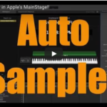 Apple Mainstage Auto Sampler